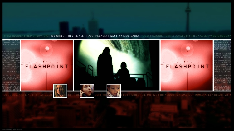"Critical Incident Report graphic for Flashpoint episode 3x02 ""Severed Ties"""