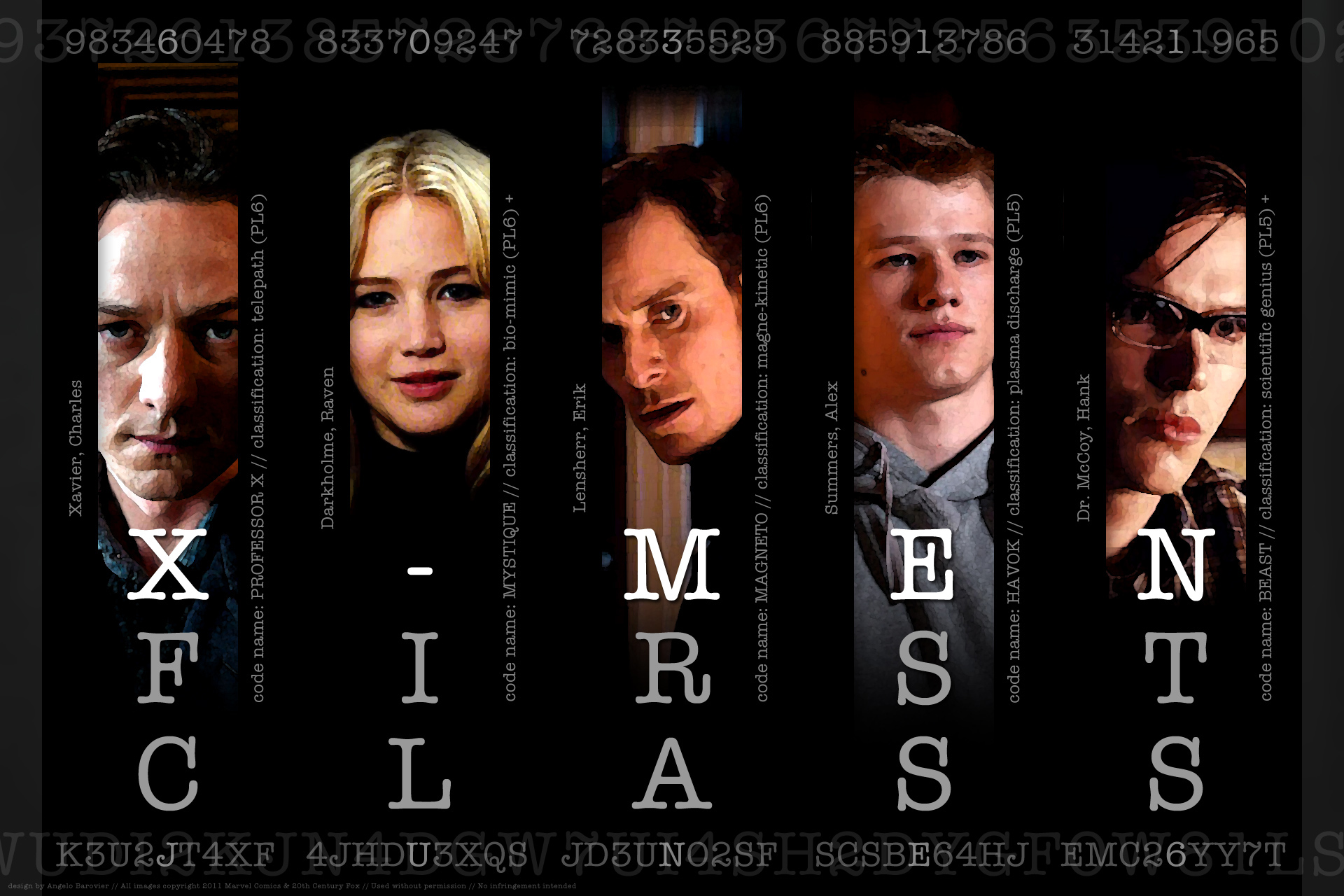 X Men First Class Wallpaper And Other Stuff Eclectickle